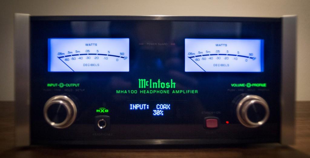 McIntosh Headphone Amplifier