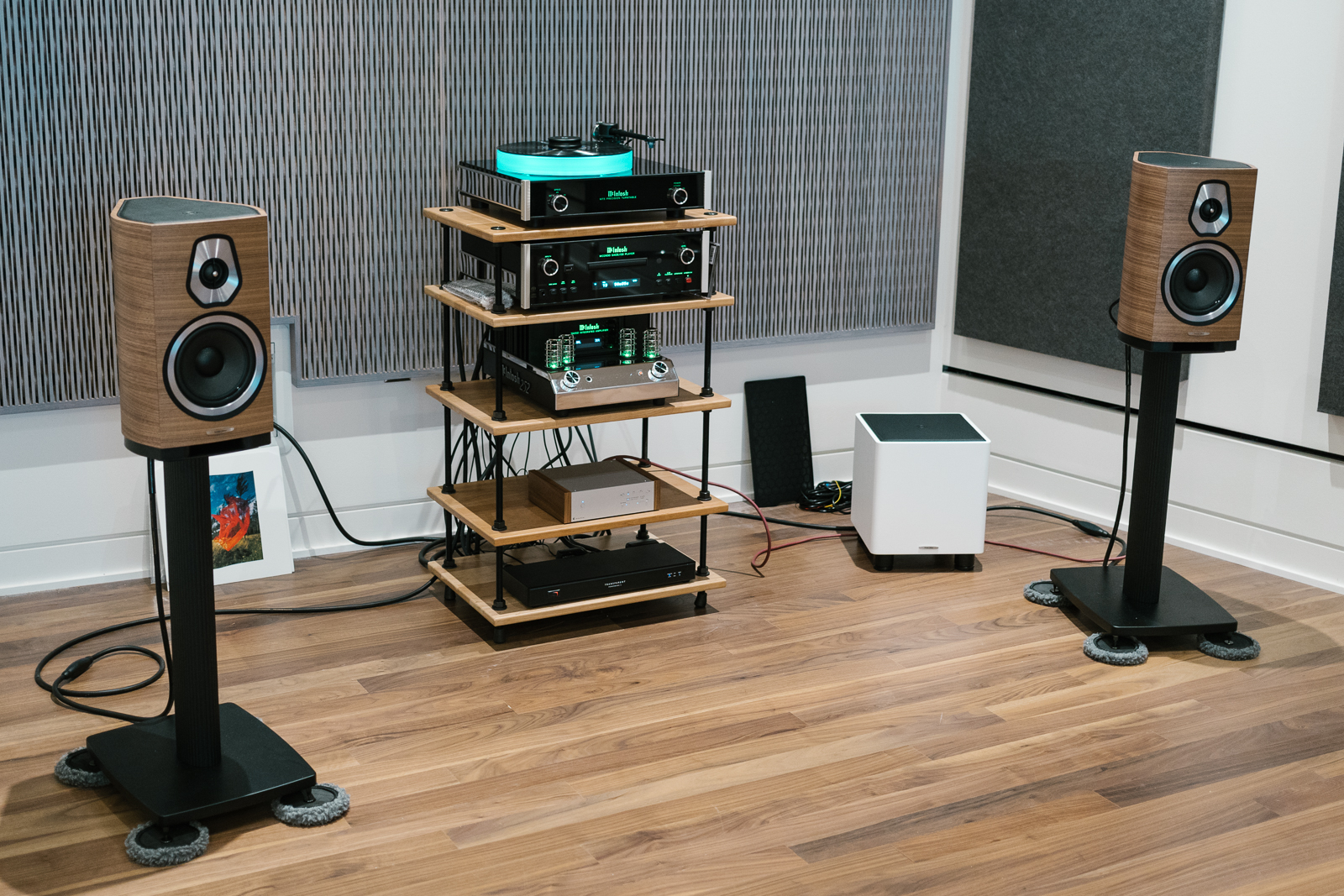 Sonus faber Sonetto North American Debut – The Sound Environment