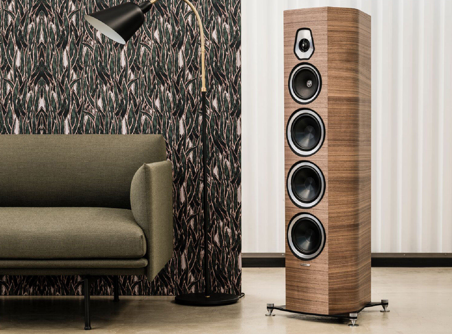Now at TSE! Sonus faber Sonetto V