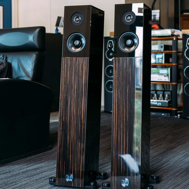 Audio Physic Avanti Ebony High Gloss
