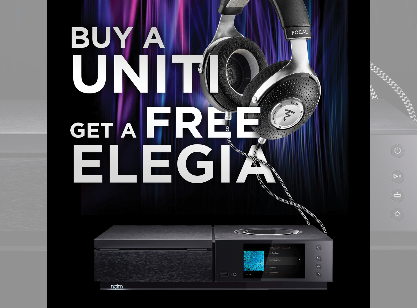 Free Focal Elegia with Naim Uniti Purchase!